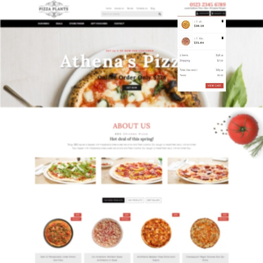 theme - Eten & Restaurant - Pizza Plants Store - 6