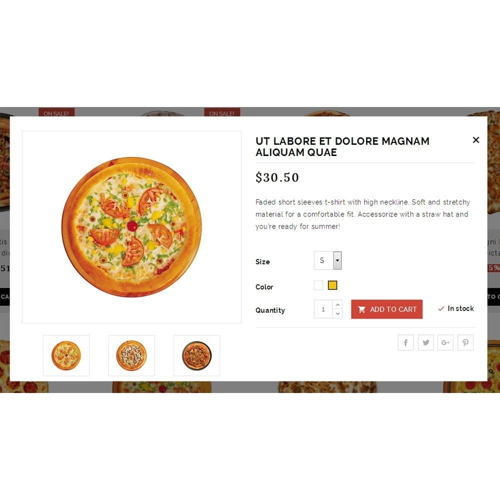 theme - Eten & Restaurant - Pizza Plants Store - 7