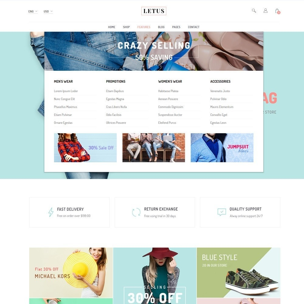 theme - Мода и обувь - JMS Letus 1.7 - 4