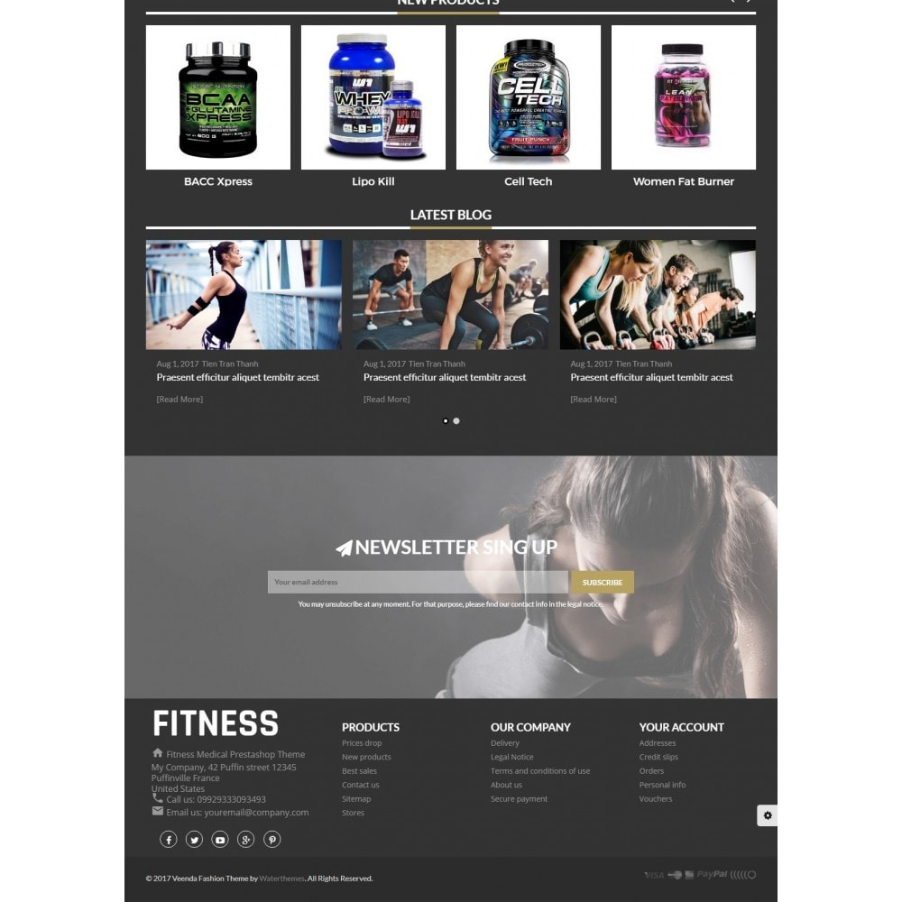 theme - Saúde & Beleza - Fitness Health And Medical - 3