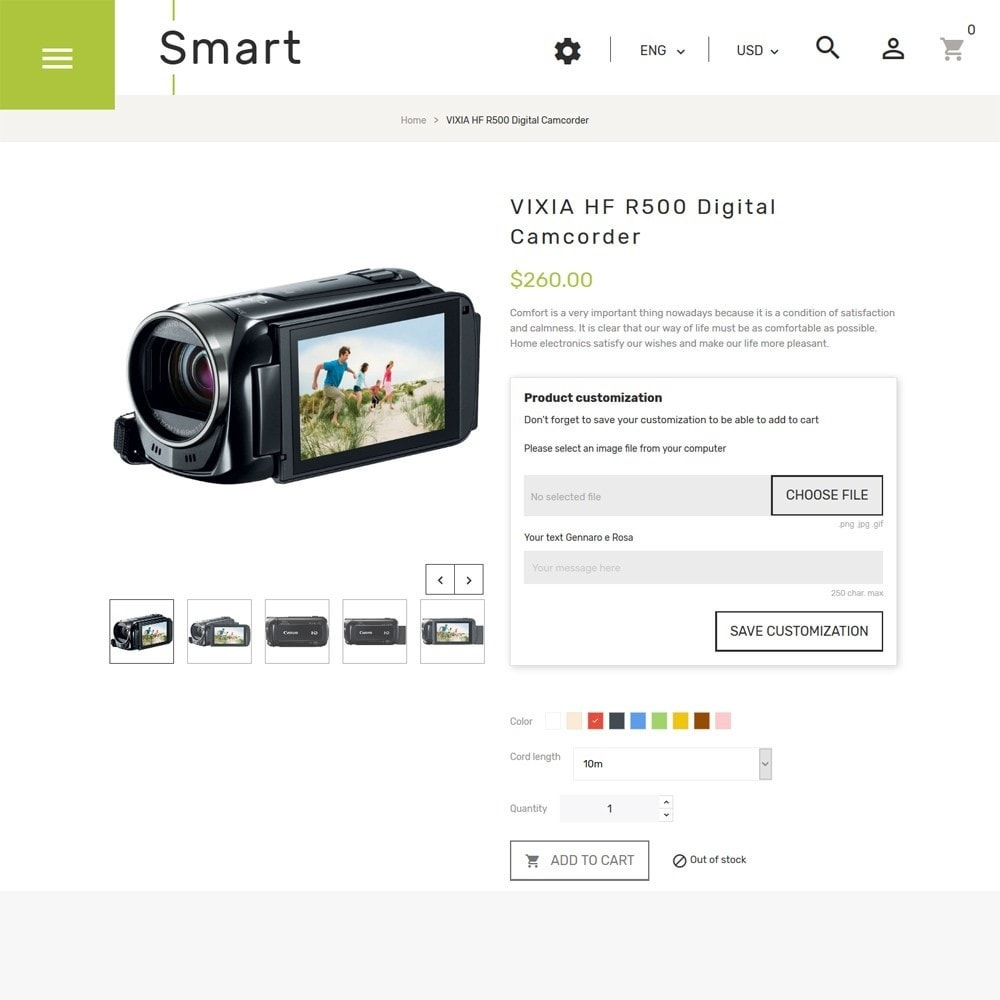 theme - Elektronica & High Tech - Smart - Gadgets & Electronics PrestaShop 1.7 Theme - 3