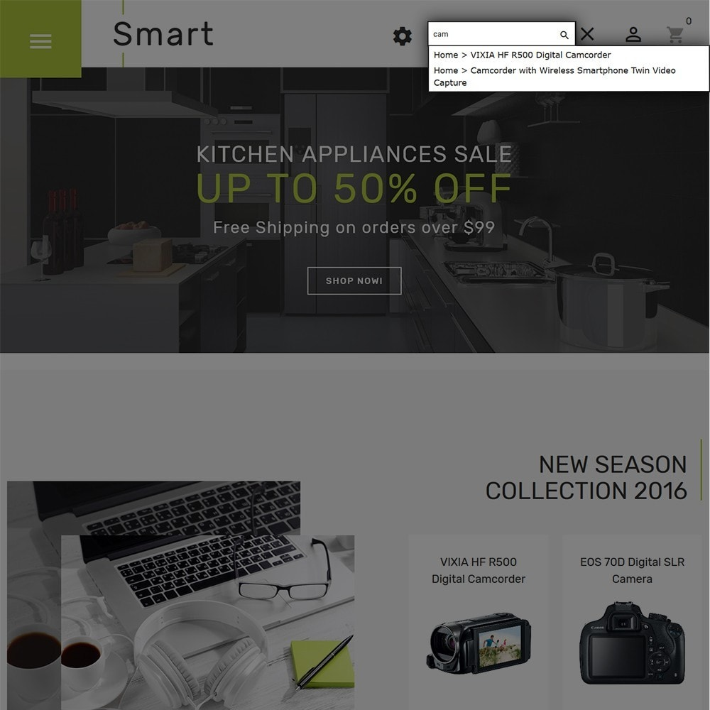 theme - Eletrônicos & High Tech - Smart - Gadgets & Electronics PrestaShop 1.7 Theme - 5