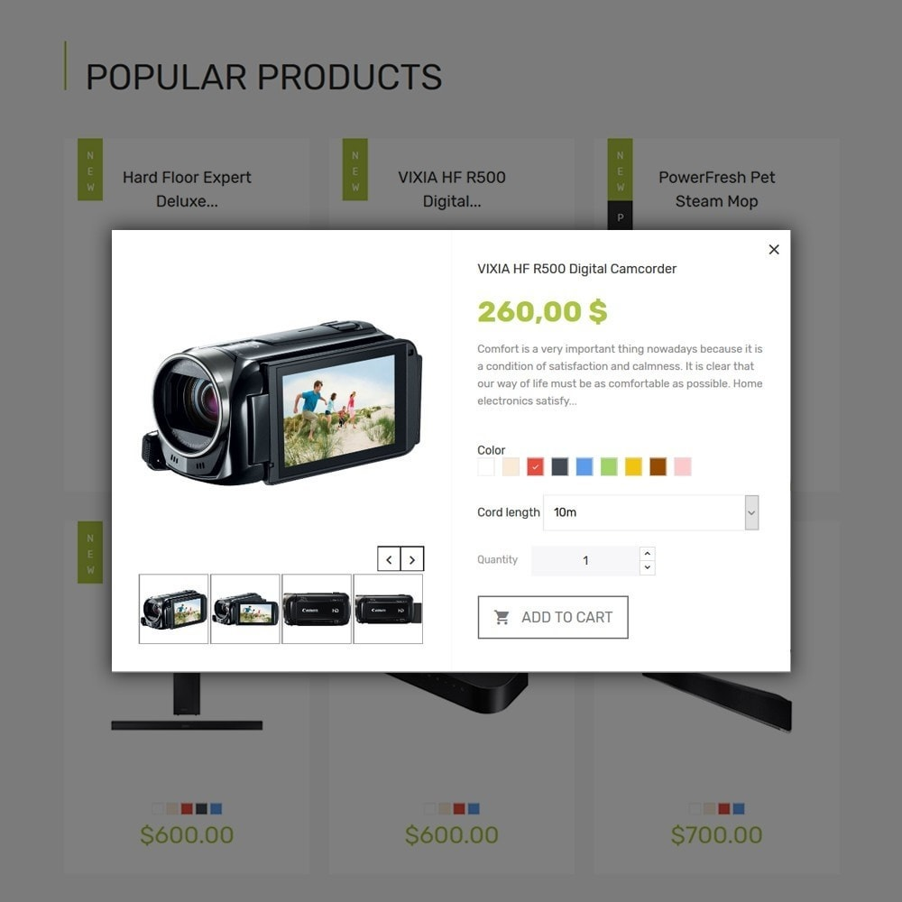 theme - Eletrônicos & High Tech - Smart - Gadgets & Electronics PrestaShop 1.7 Theme - 6