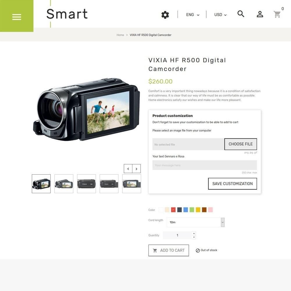 theme - Electronique & High Tech - Smart - Gadgets et électronique thème PrestaShop - 4