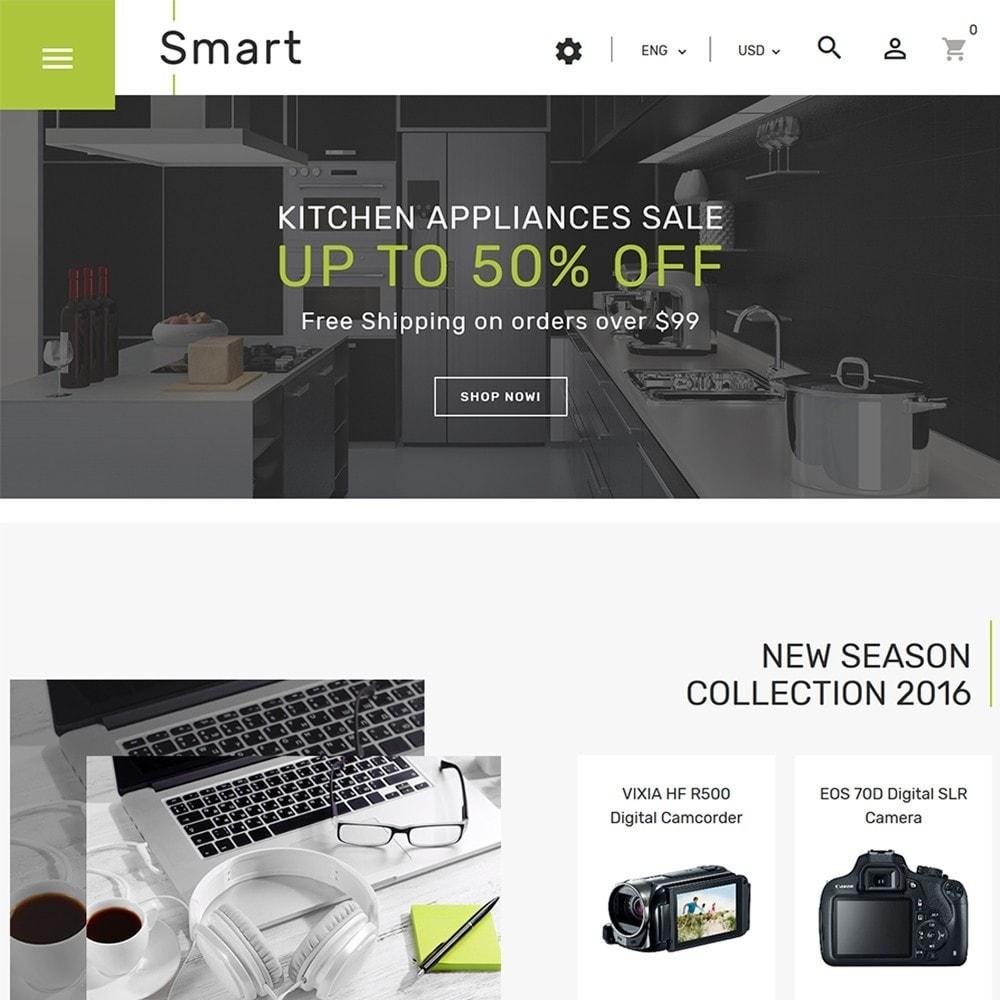 theme - Electrónica e High Tech - Smart - Sitio de Tienda de Electrónica - 3