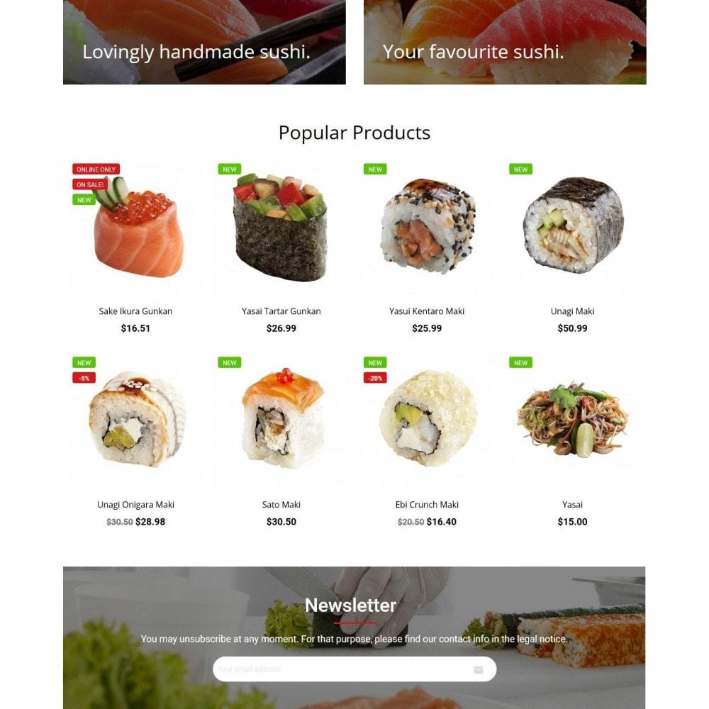 theme - Alimentation & Restauration - SushiSun - 3