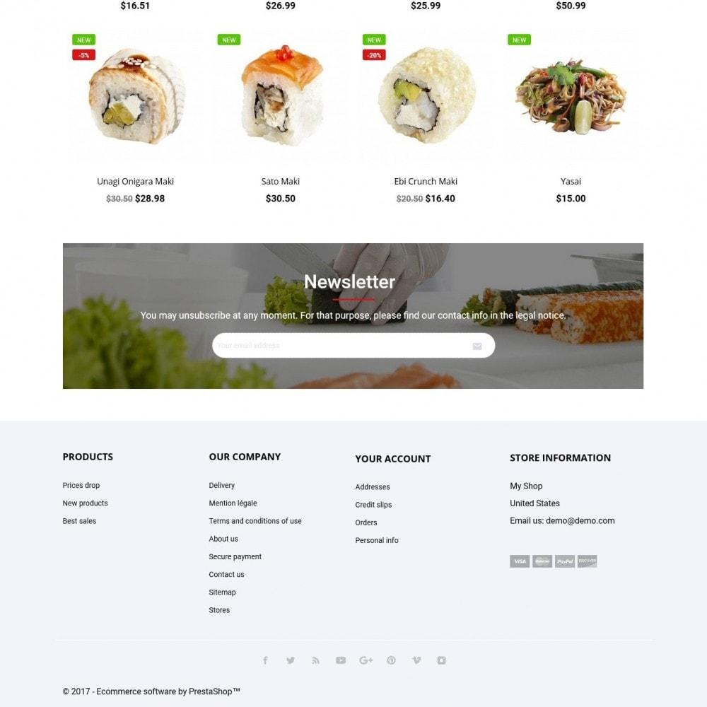 theme - Продовольствие и рестораны - SushiSun - 4