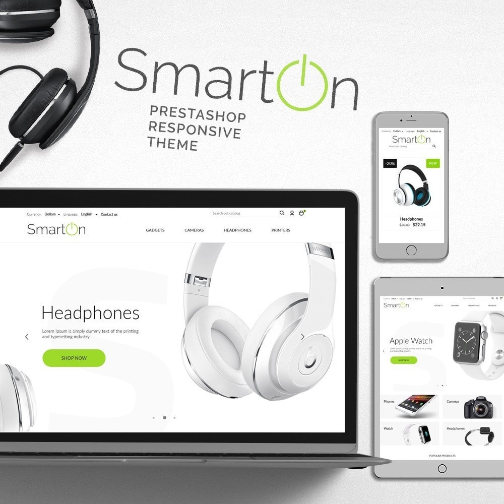 theme - Elettronica & High Tech - SmartOn - High-tech Shop - 1