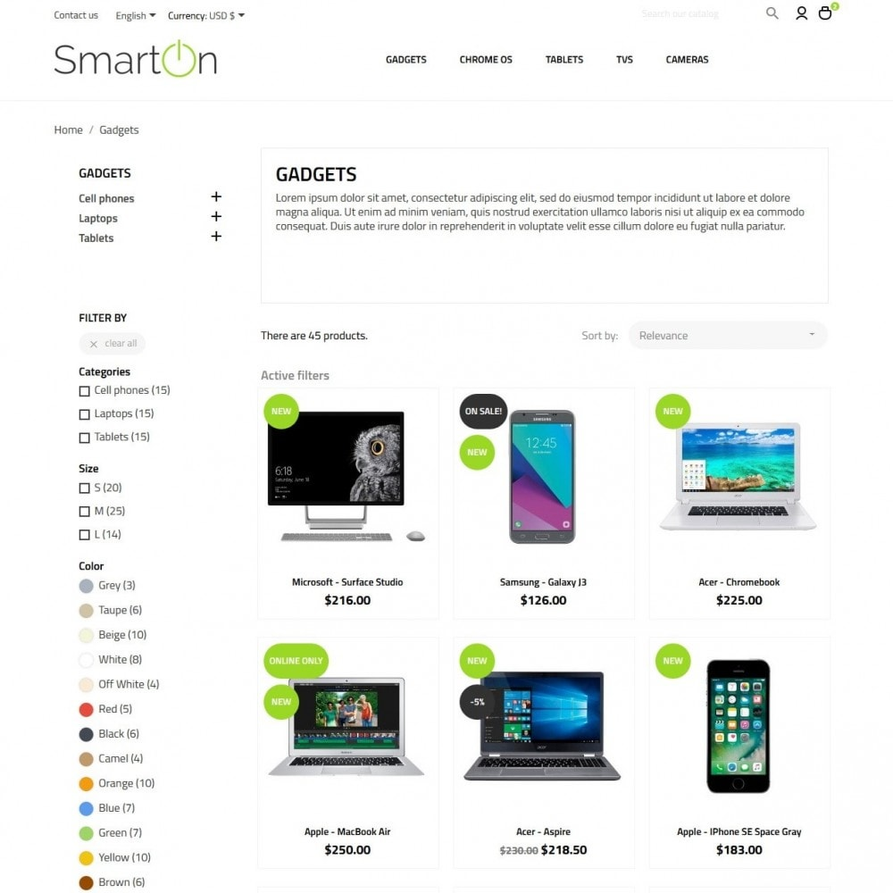 theme - Elettronica & High Tech - SmartOn - High-tech Shop - 5