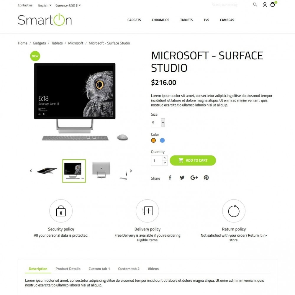 theme - Elettronica & High Tech - SmartOn - High-tech Shop - 6