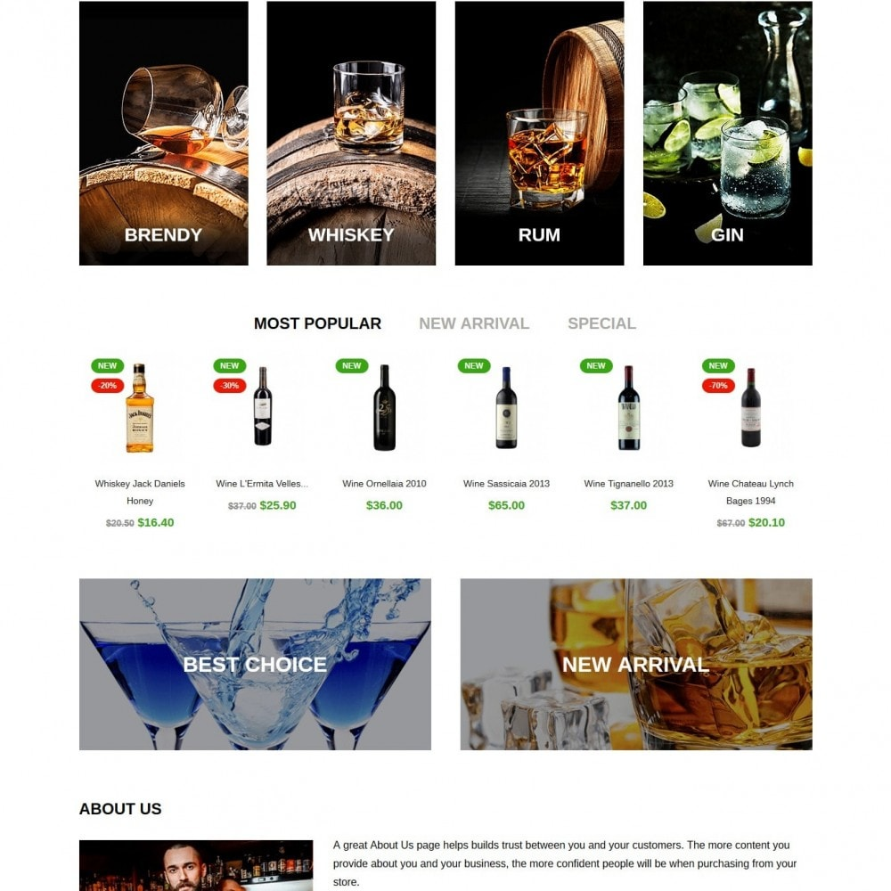 theme - Drink & Tobacco - Vsop Shop - 3