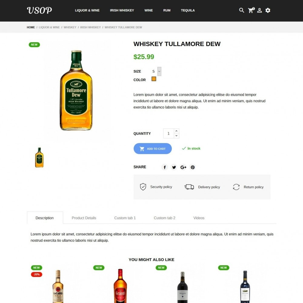 theme - Drink & Tobacco - Vsop Shop - 6