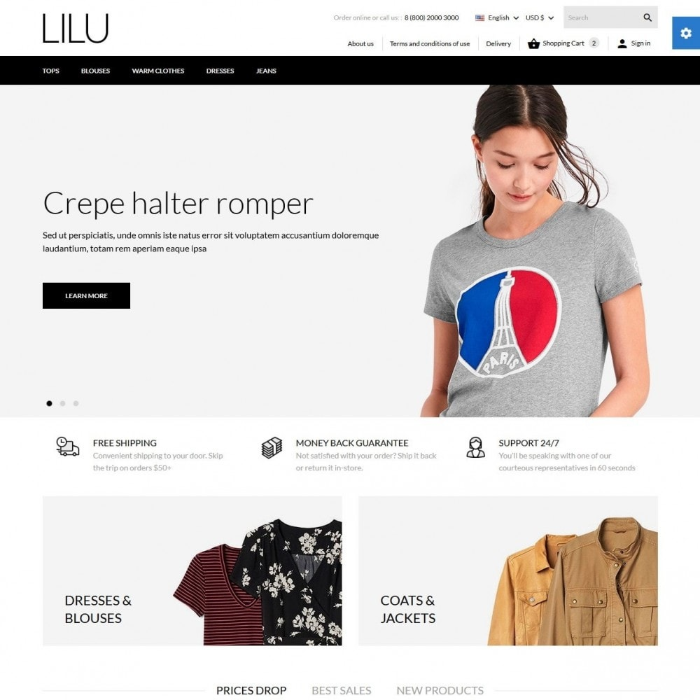 theme - Moda & Calzature - Lilu Fashion Store - 2