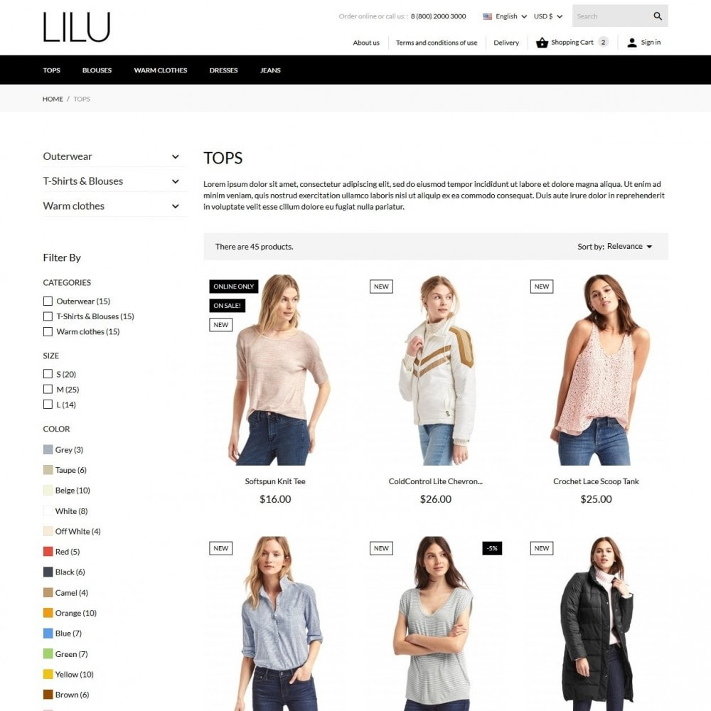 theme - Moda & Calzature - Lilu Fashion Store - 6