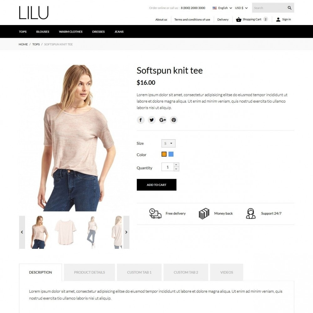 theme - Moda & Calzature - Lilu Fashion Store - 7