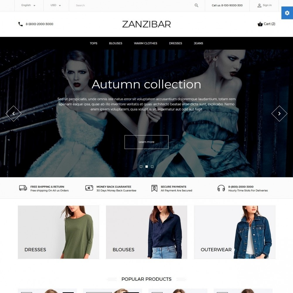 theme - Mode & Schoenen - Zanzibar Fashion Store - 2