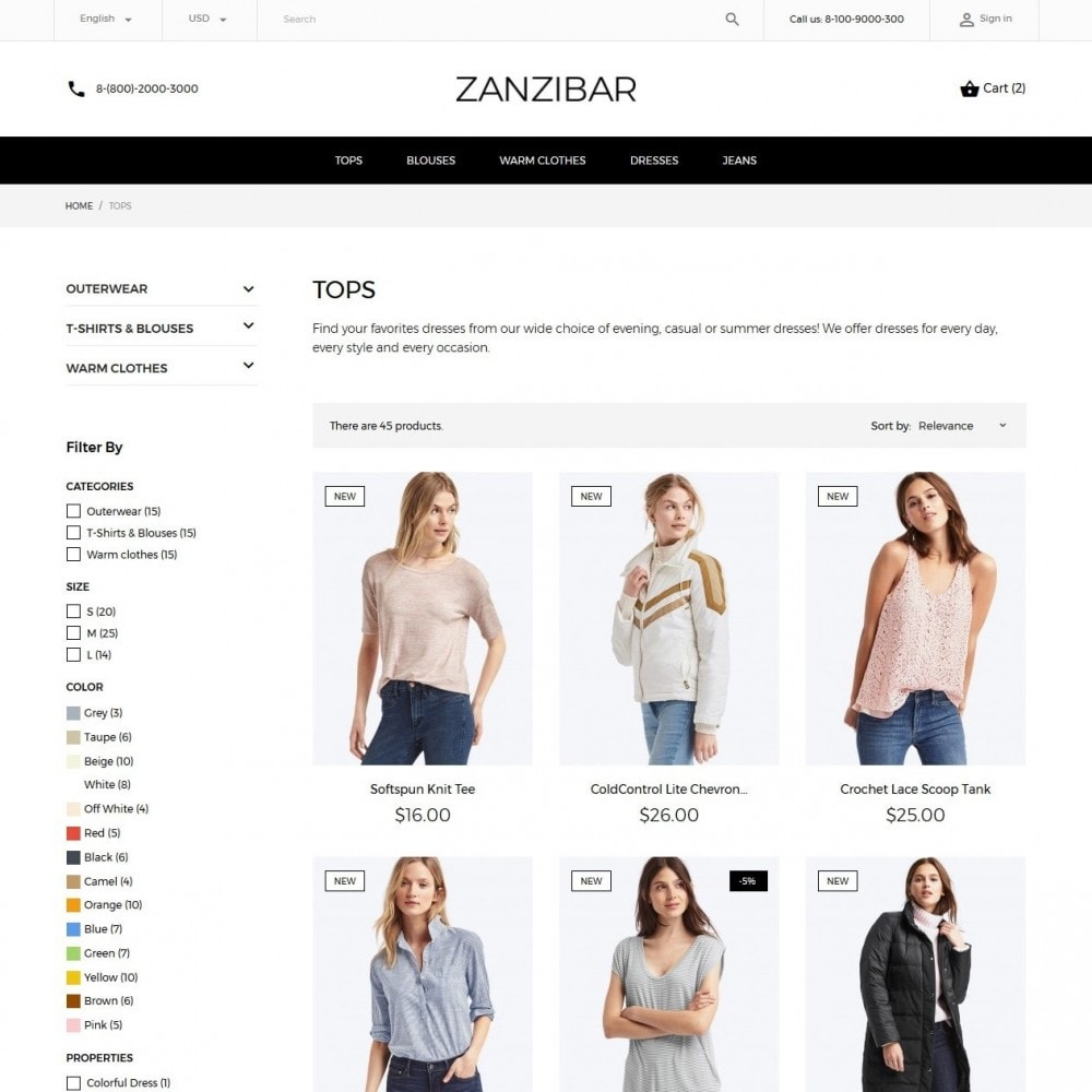 theme - Mode & Schoenen - Zanzibar Fashion Store - 5