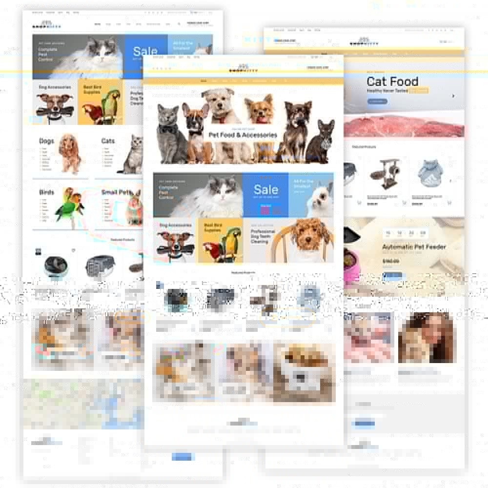 theme - Animals & Pets - ShopKitty - 2