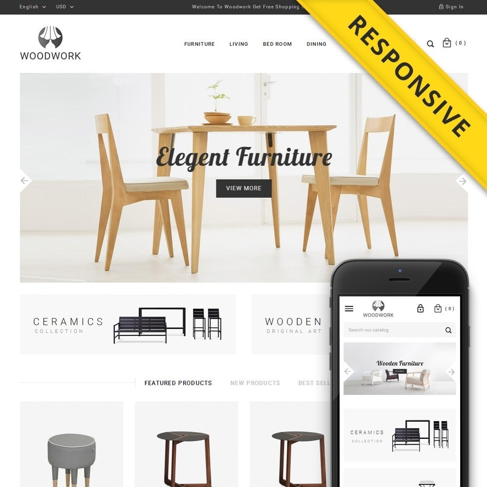 theme - Huis & Buitenleven - WoodWork - Furniture Store - 1