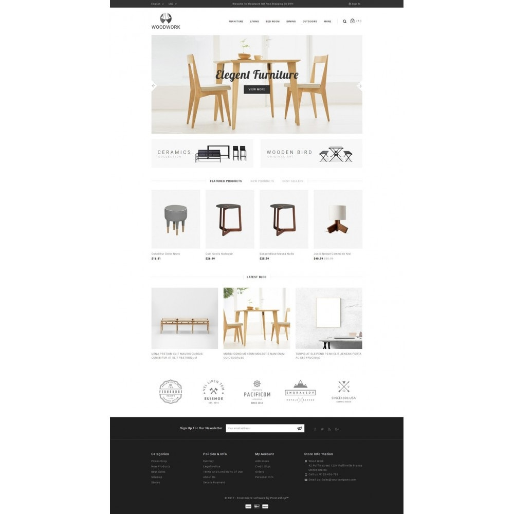 theme - Huis & Buitenleven - WoodWork - Furniture Store - 2