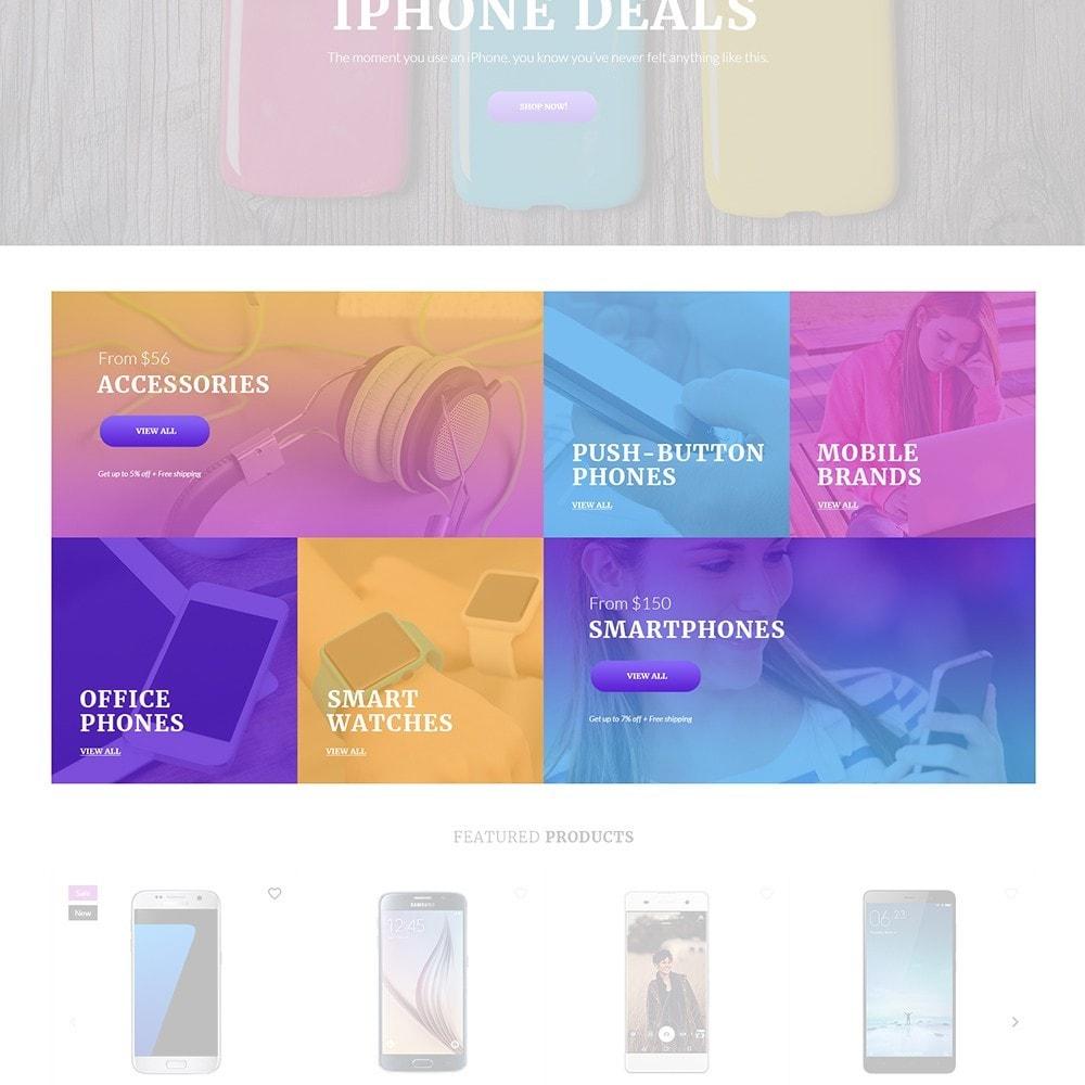 theme - Electrónica e High Tech - Mobilli - Tema para Sitio de Tienda de Móviles - 4