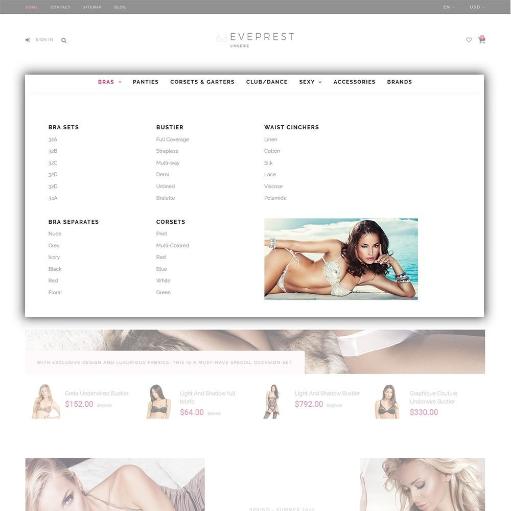 theme - Fashion & Shoes - Eveprest - Multipurpose PrestaShop Theme - 6