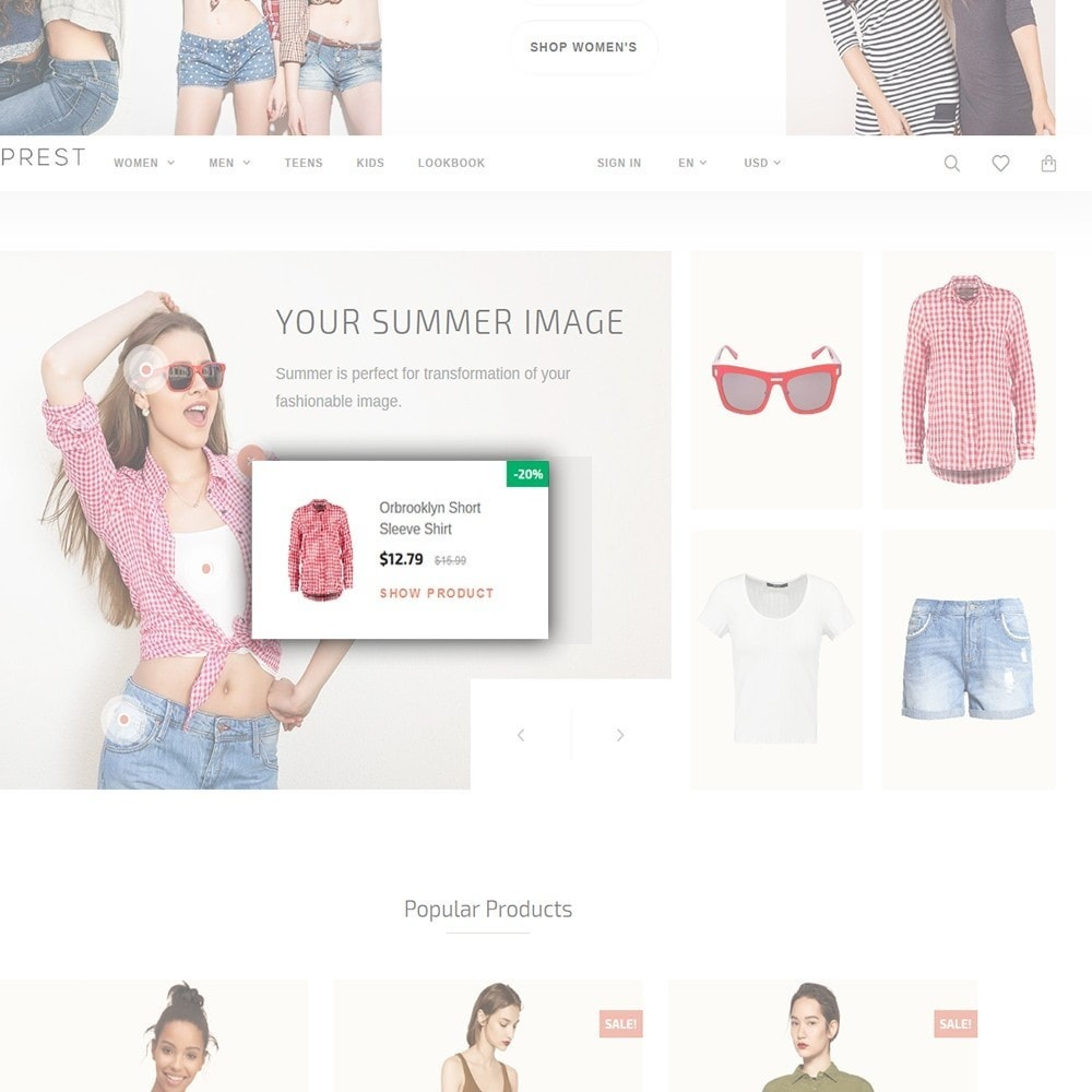 theme - Fashion & Shoes - Eveprest - Multipurpose PrestaShop Theme - 7