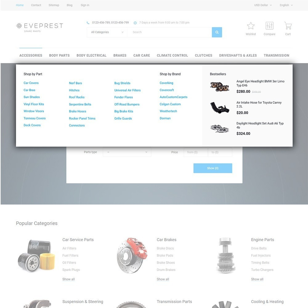 theme - Fashion & Shoes - Eveprest - Multipurpose PrestaShop Theme - 10