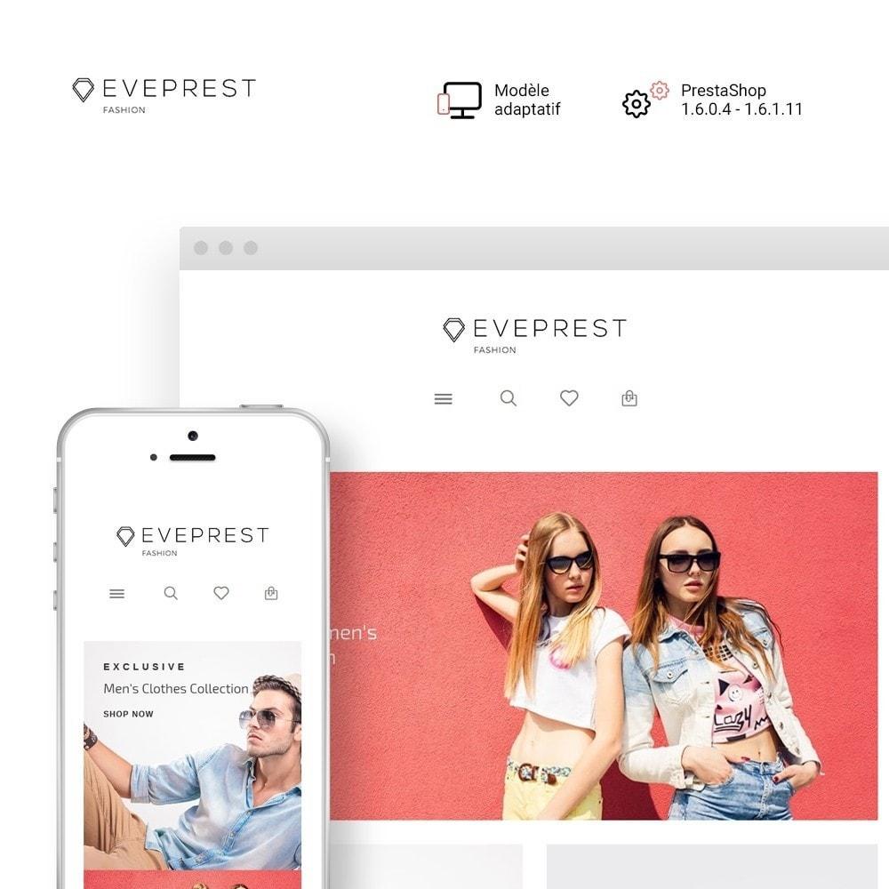 theme - Mode & Chaussures - Eveprest - Thème polyvalent de PrestaShop - 2