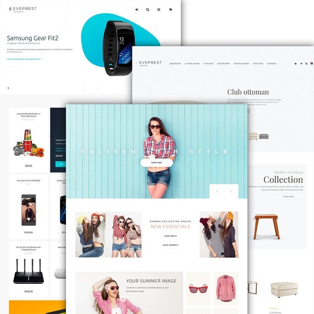 theme - Мода и обувь - Eveprest - Многоцелевая тема PrestaShop - 4