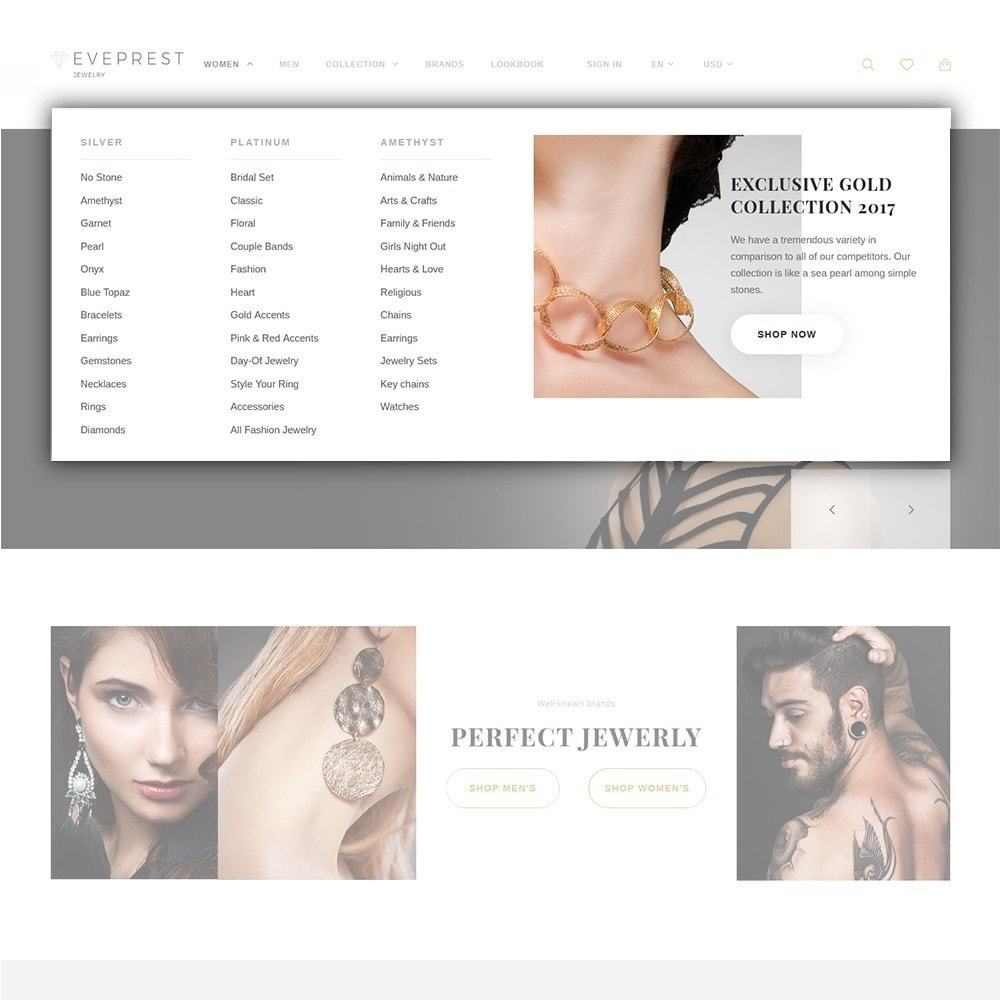 theme - Moda & Calzature - Eveprest - Tema multipurpose PrestaShop - 10