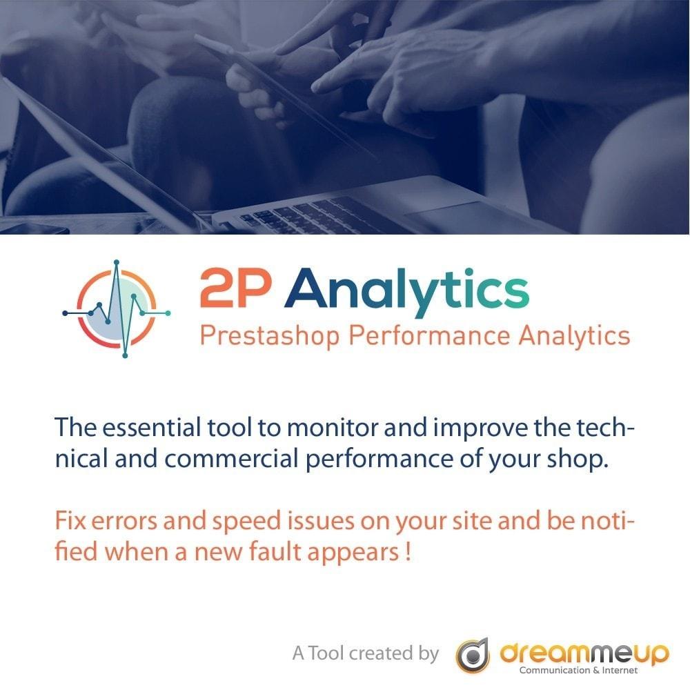 module - Informes y Estadísticas - 2P Analytics - 2