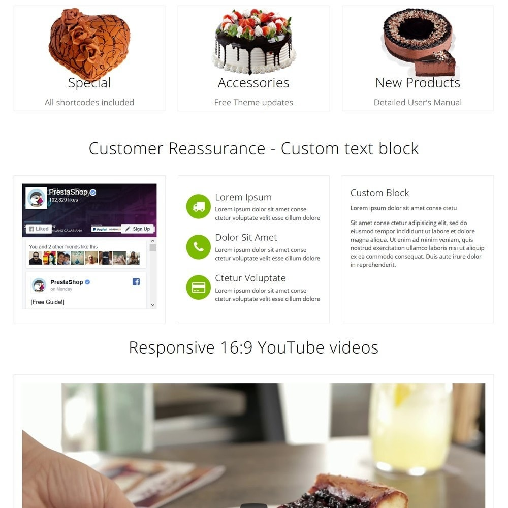 theme - Food & Restaurant - CakeShop - 3