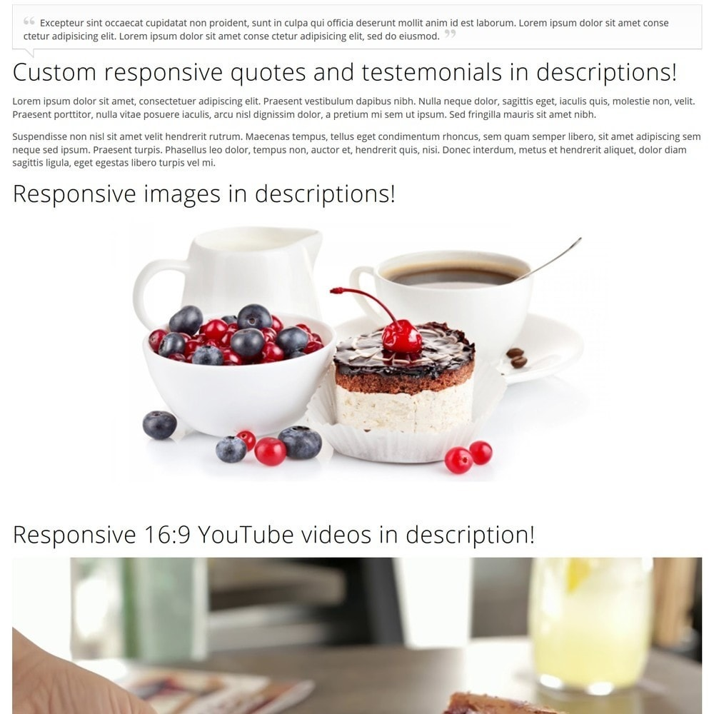 theme - Food & Restaurant - CakeShop - 8