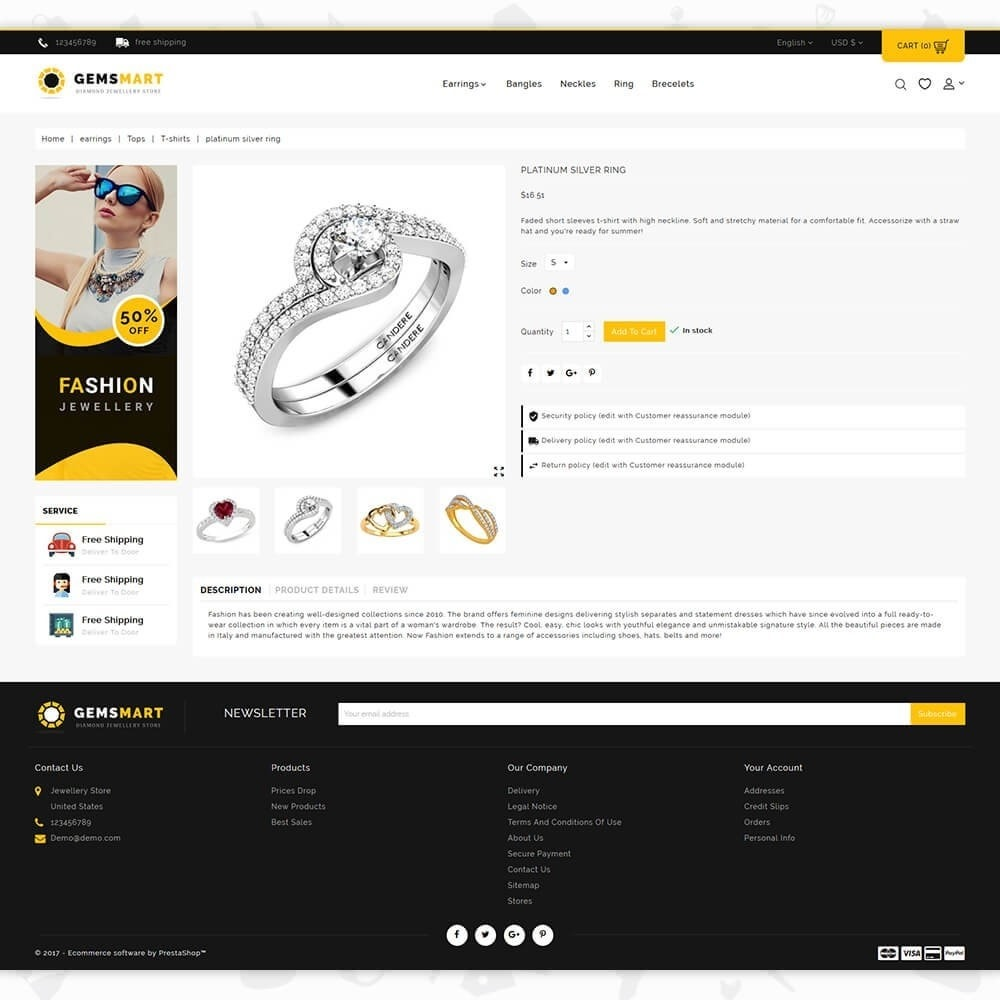 theme - Sieraden & Accessoires - Gemsmart - The Diamond Jewellery Store - 5