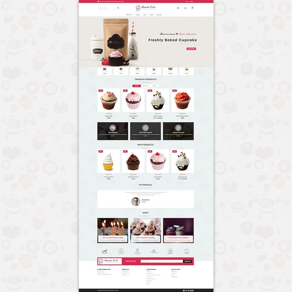 theme - Lebensmittel & Restaurants - Sweet Cake - The Special Cake Shop - 2