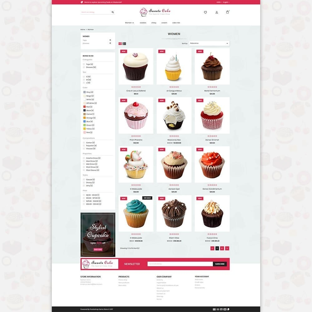 theme - Lebensmittel & Restaurants - Sweet Cake - The Special Cake Shop - 3