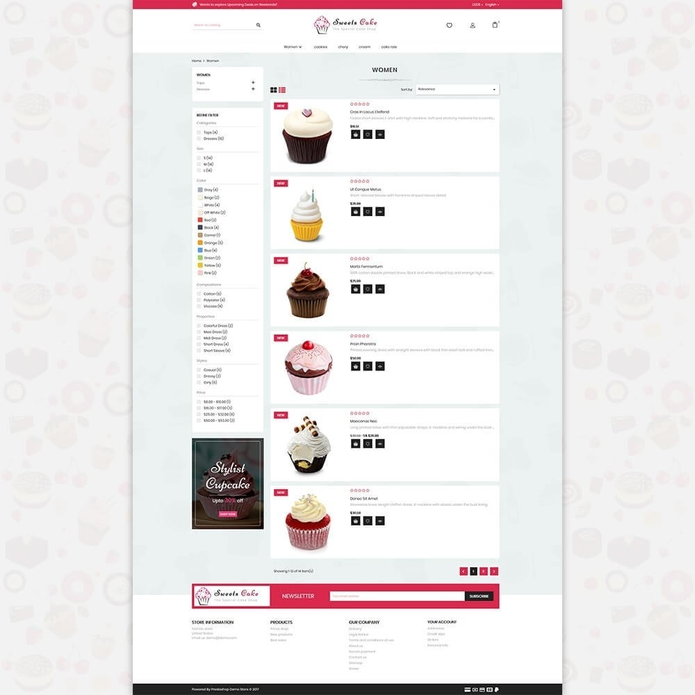 theme - Lebensmittel & Restaurants - Sweet Cake - The Special Cake Shop - 4