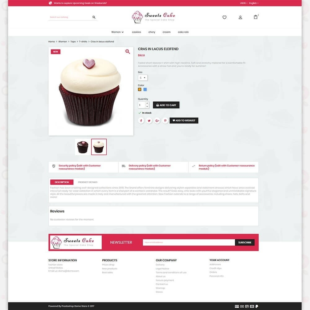 theme - Lebensmittel & Restaurants - Sweet Cake - The Special Cake Shop - 5