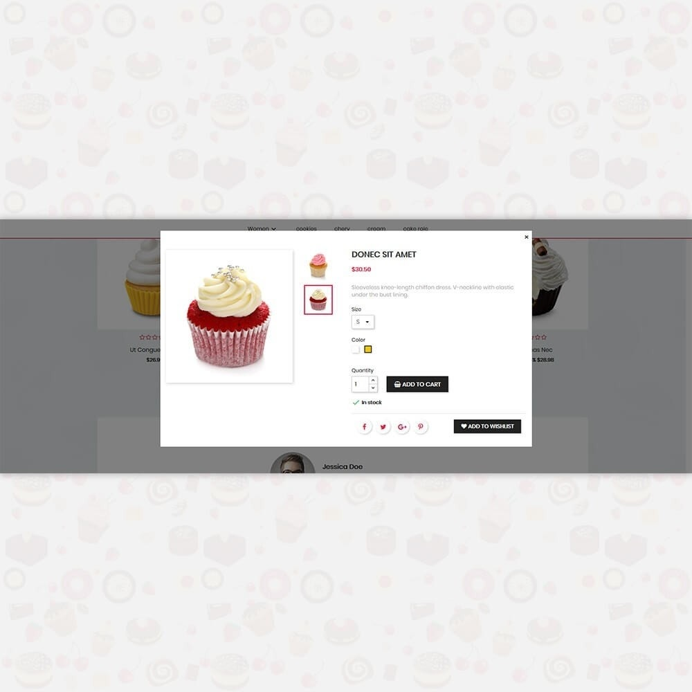 theme - Lebensmittel & Restaurants - Sweet Cake - The Special Cake Shop - 7