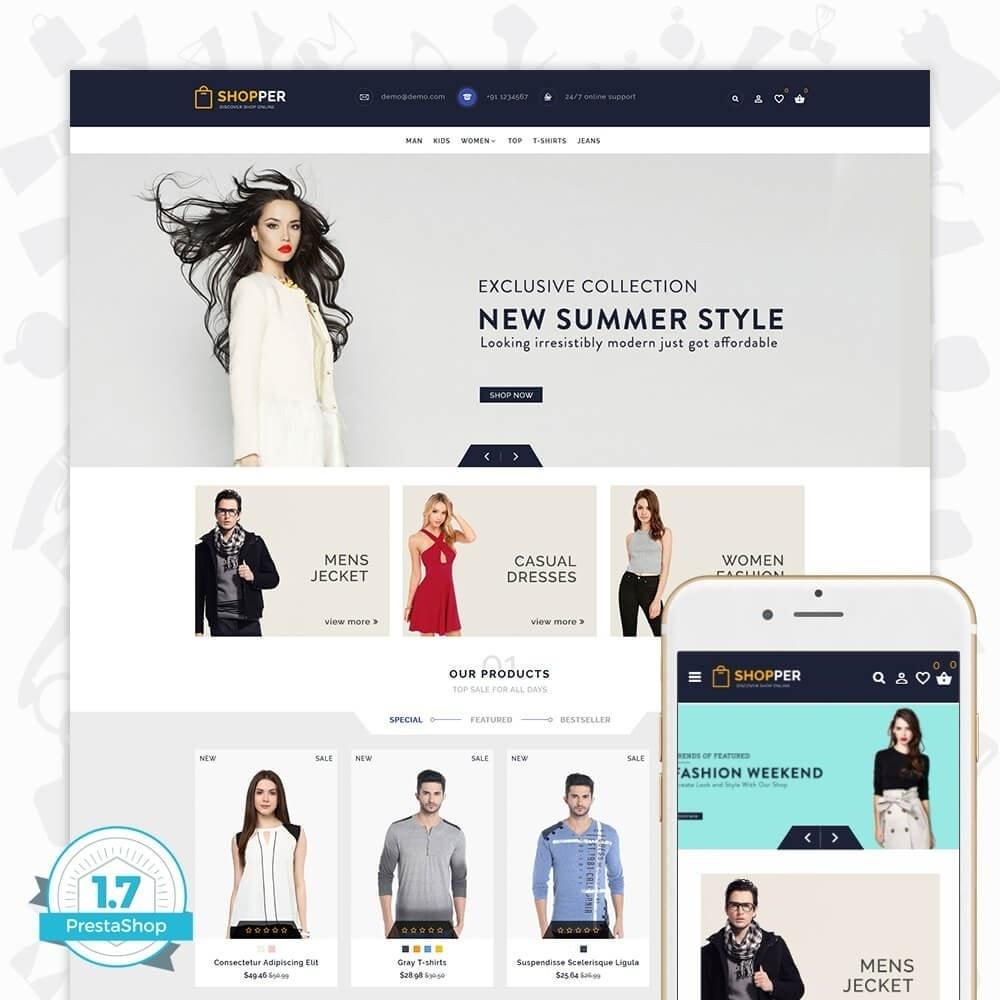 theme - Moda y Calzado - Shopper Shop Store - 1