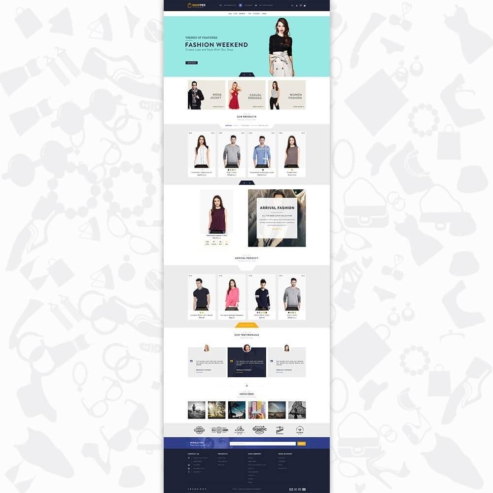 theme - Moda y Calzado - Shopper Shop Store - 2