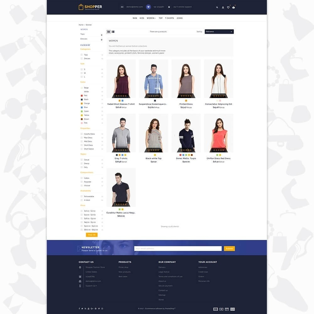 theme - Mode & Schoenen - Shopper Shop Store - 3