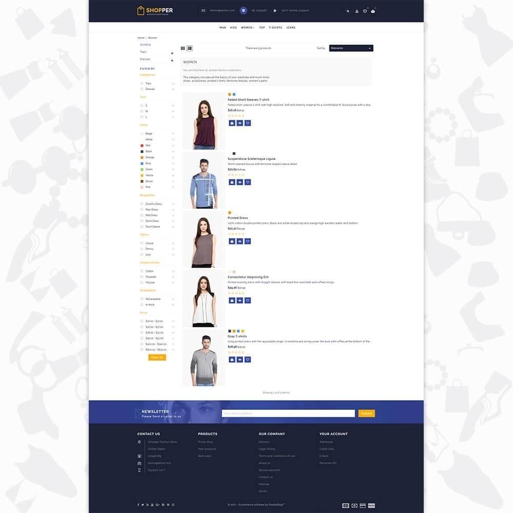theme - Mode & Schoenen - Shopper Shop Store - 4