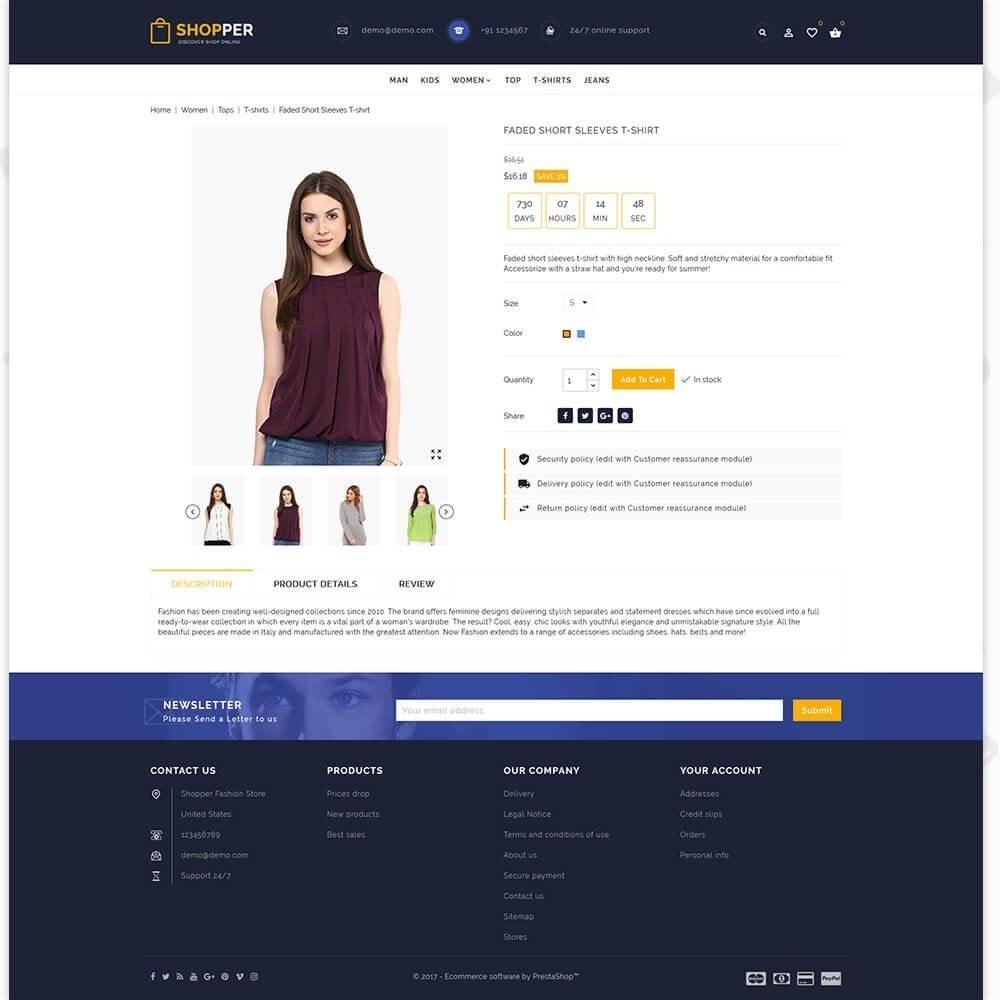 theme - Mode & Schoenen - Shopper Shop Store - 5