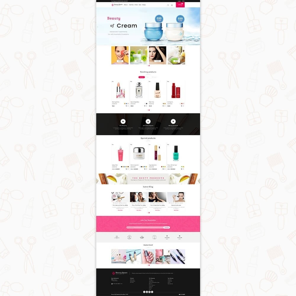 theme - Health & Beauty - Beauty Queen Store - 2