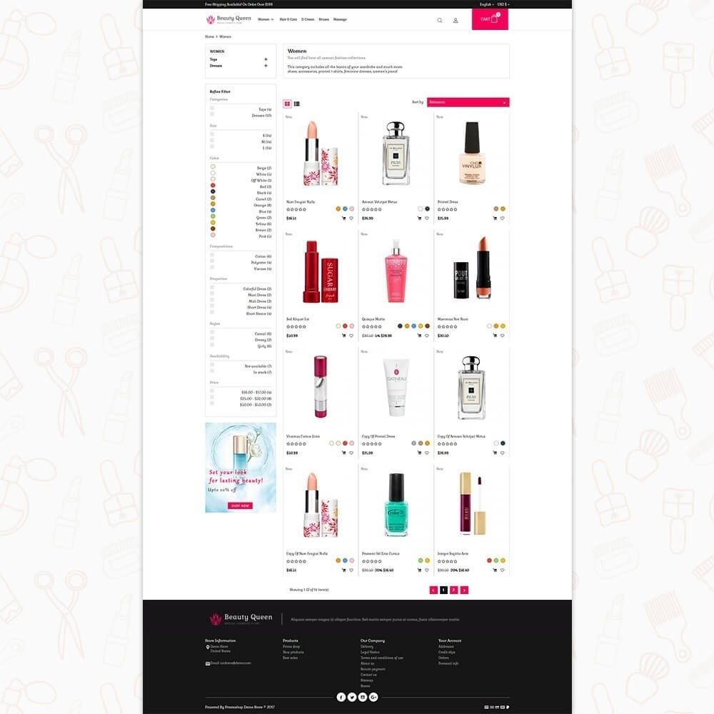 theme - Health & Beauty - Beauty Queen Store - 3