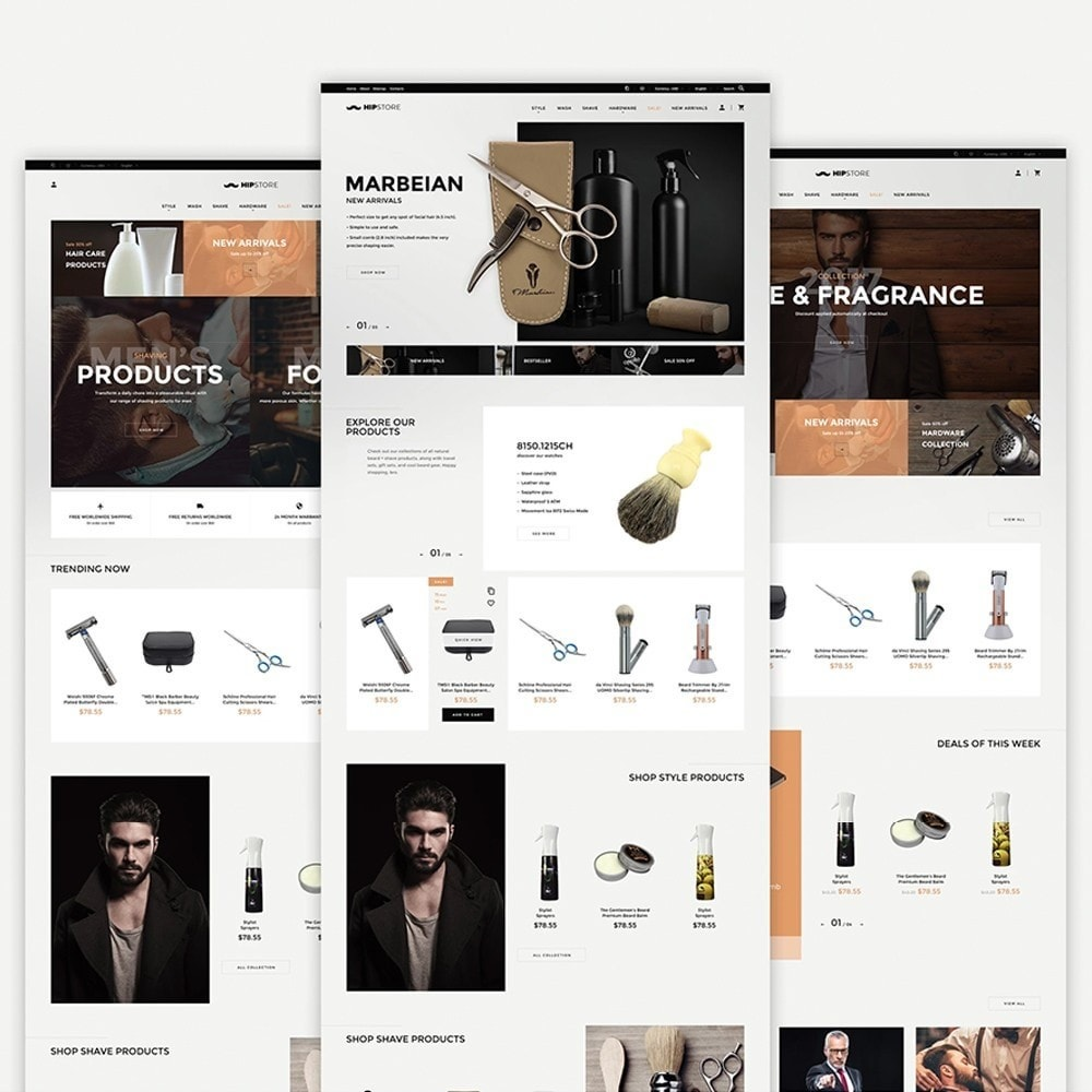 theme - Health & Beauty - HipStore - 2
