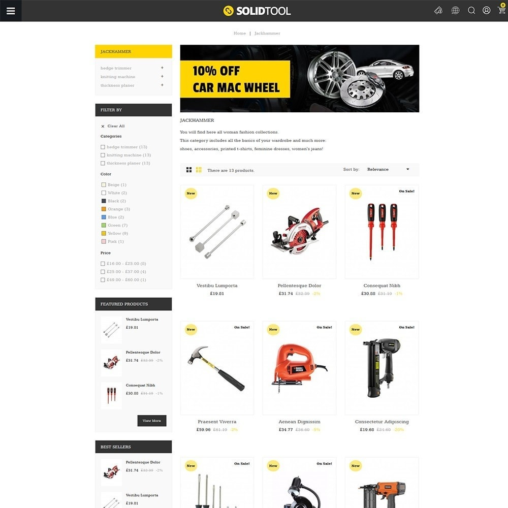 theme - Coches y Motos - Solid Tool Store - 3