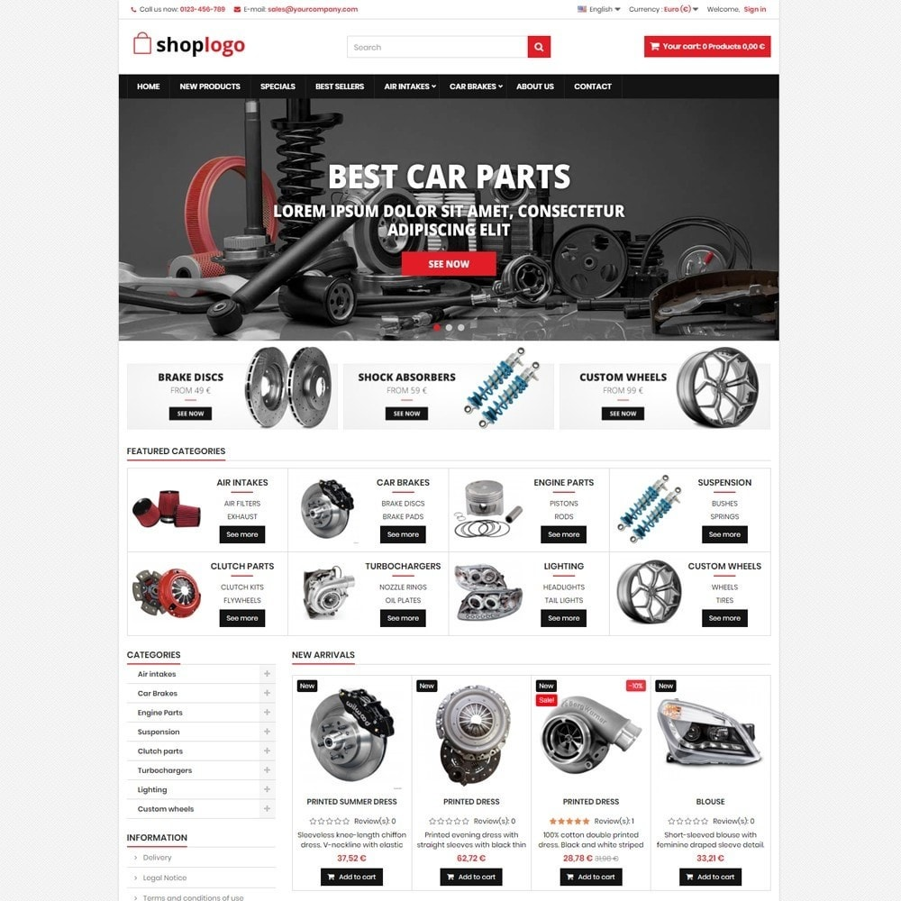 theme - Automotive & Cars - P16AT11 Car spare parts and tools - 1